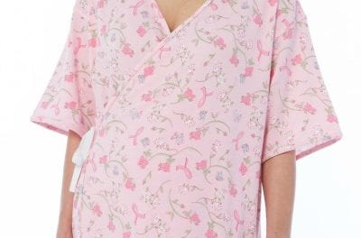 Full-Coverage Mammography Top Ensures Dignity During Imaging