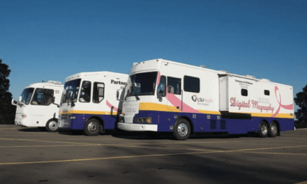 Mammography Vans Repurposed to Screen for COVID-19 in Louisiana
