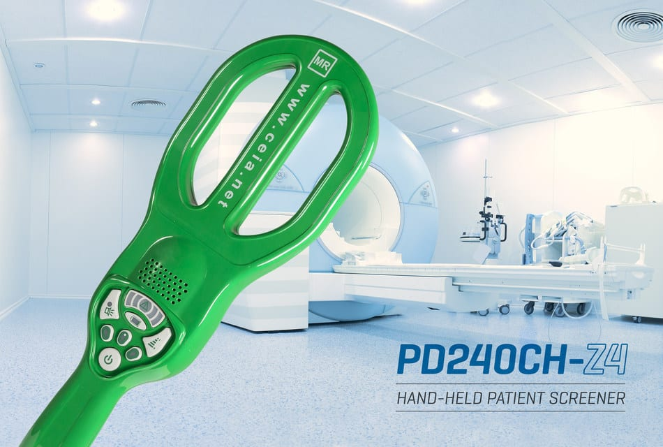 CEIA USA Introduces HandHeld Patient Screener For MRI Zone 4 Safety