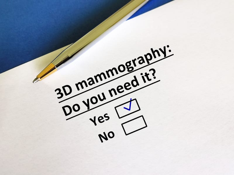 3D Mammography Leads to Fewer Breast Cancers Between Screening Rounds