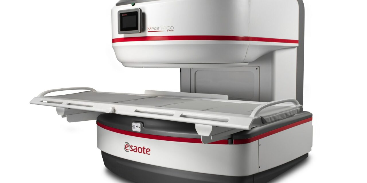 Esaote Unveils Magnifico Open MRI Scanner